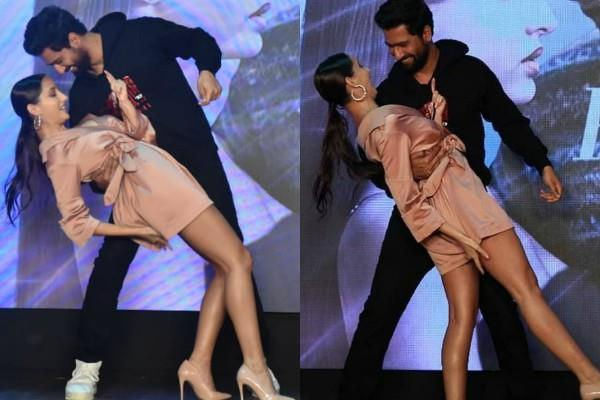 nora fatehi oops moment at event video goes viral