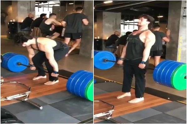 tiger shroff s 200 kg deadlift leaves everyone astonished