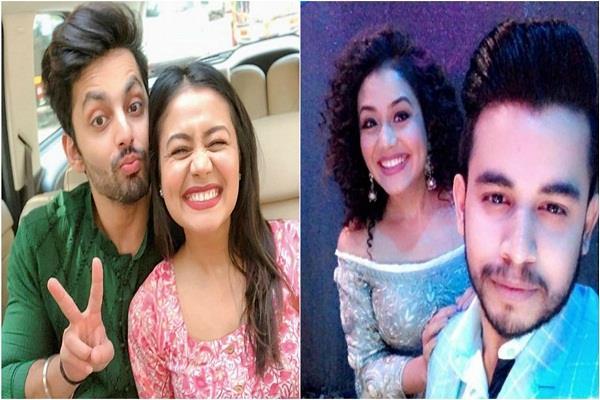 neha kakkar reacts dating vibhor parashar of indian idol 10