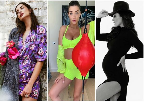 33 weeks pregnant amy jackson bold photoshoot see pics
