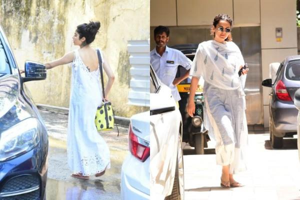 janhvi kapoor and kangana ranaut latest pictures