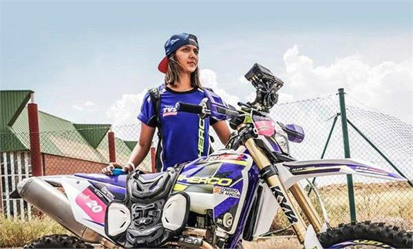 aishwarya pissay became the first indian to win the fim world cup