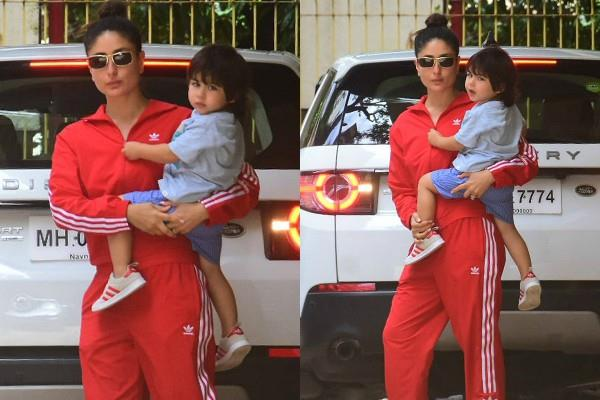 taimur ali khan outing with mummy kareena kapoor khan