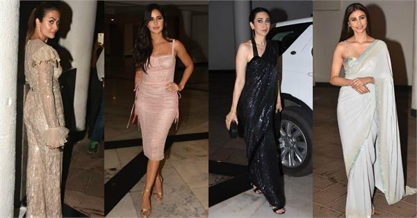 bollywood celebs attend manish malhotra party