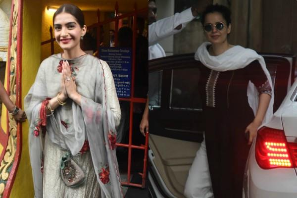 kangana ranaut and sonam kapoor latest pictures