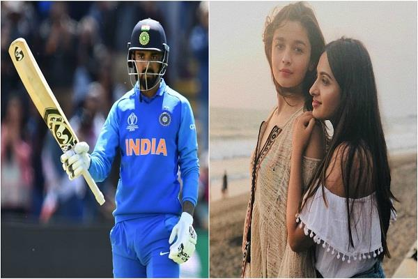 kl rahul on link up rumours with alia bhatt s bff akansha ranjan
