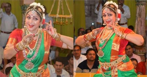 hema malini performed at vrindavan
