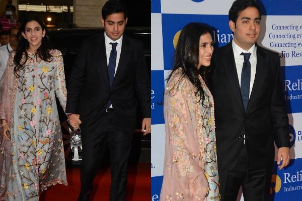 shloka mehta akash ambani at reliance agm