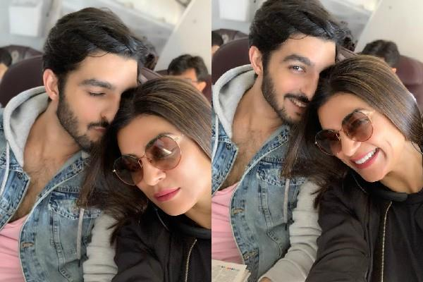 sushmita sen share romantic pictures with boyfriend rohman shawl
