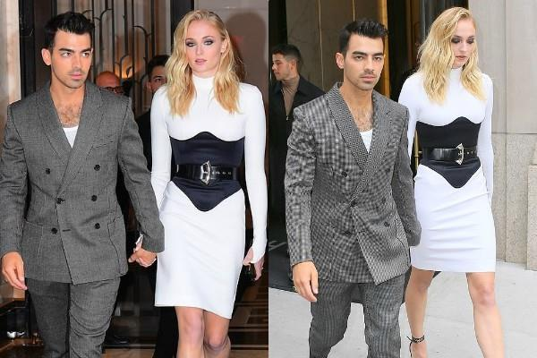 joe jonas attend mtv vma awards show with wife sophie turner