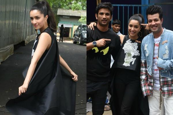 shraddha kapoor sushant singh rajput varun sharma for the promotions
