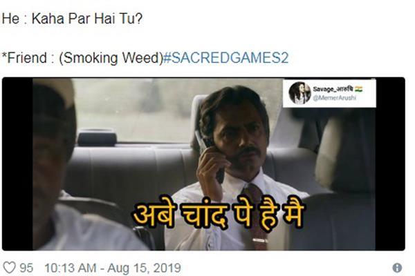pankaj tripathi saif ali khan starrer sacred games 2 memes viral