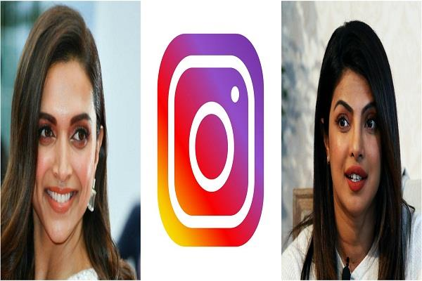 deepika padukone priyanka chopra top insta celebs with high fake followers