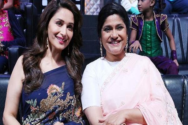 madhuri dixit and renuka shahane share tributes and pics