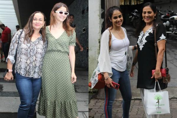 genelia dsouza alia bhatt spotted with mothers