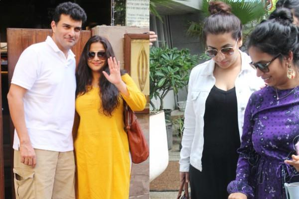 rumour is vidya balan pregnant internet congratulates the actress