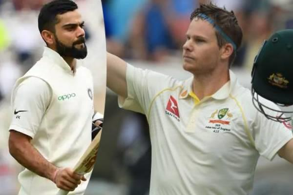 smith beats williamson in test batting ranking kohli s position in danger