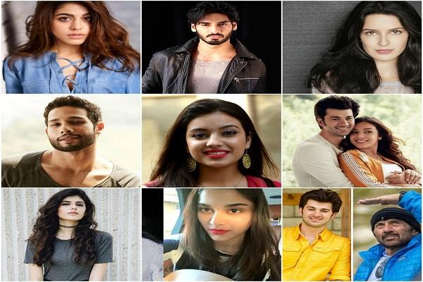 siddhant to isabelle here s a lowdown to the fresh faces in bollywood