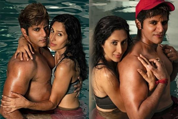 karanvir bohra romantic photoshoot with wife teejay sidhu