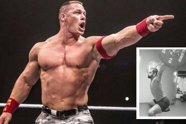 wwe superstar john cena share virat kohli fitness video on instagram