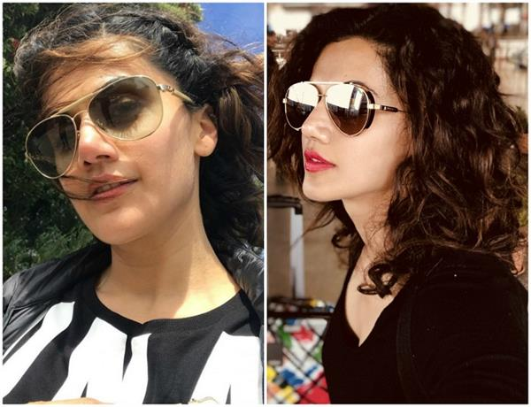 taapsee pannu shades and sunglasses