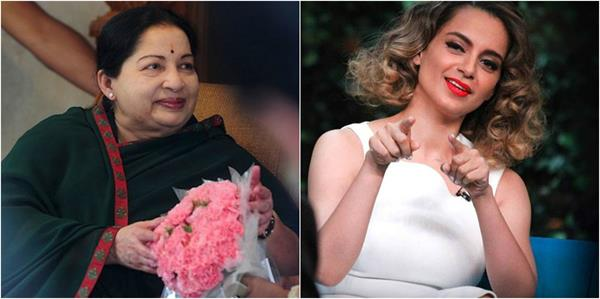 kangana will play jayalalithaa s role in her biopic