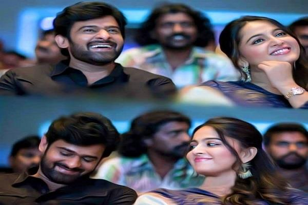 prabhas and anushka shetty s dating rumor came again