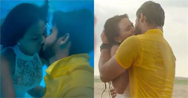ravi dubey and nia sharma kissing scene viral