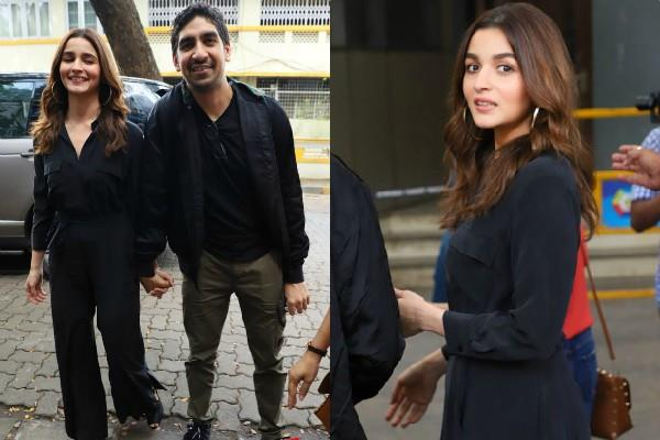 alia bhatt latest pictures with brahmastra director ayan mukerji