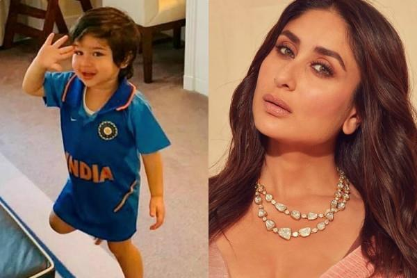 kareena kapoor wishes taimur ali khan becomes cricketer like tiger pataudi
