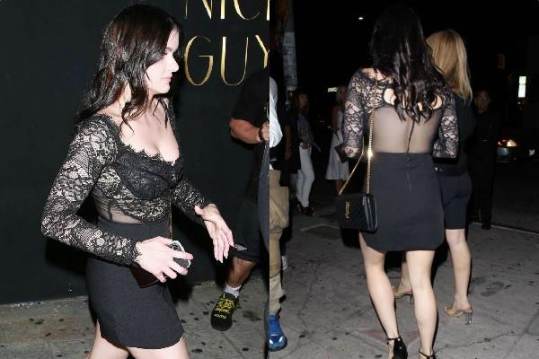 ariel winter night out pictures