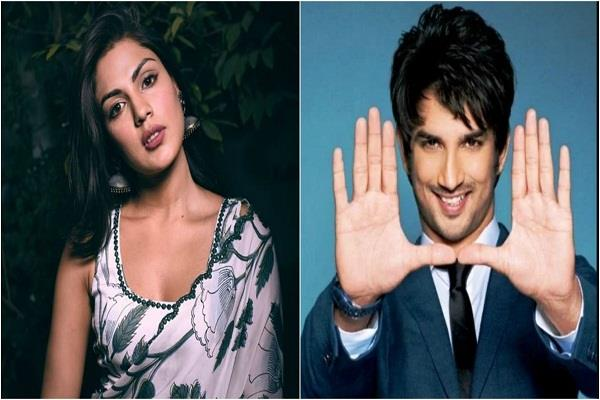 sushant says i m not allowed to say anything about rhea chakraborty