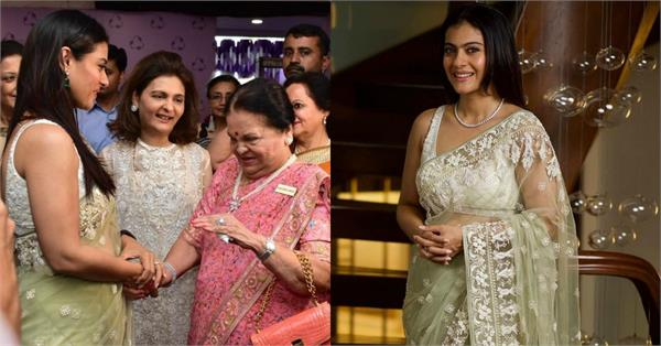 kajol attend at event with kokilaben ambani in mumbai