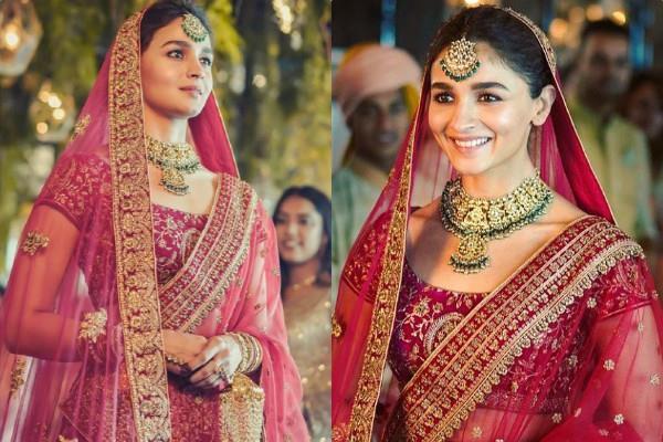 alia bhatt bridal look viral