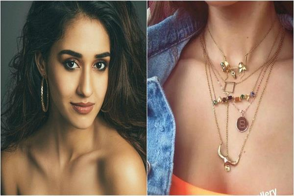 disha patani shares a stunning selfie shows her love for necklace