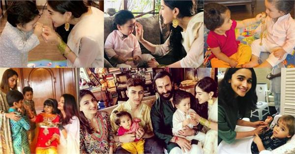 bollywood stars celebrate raksha bandhan