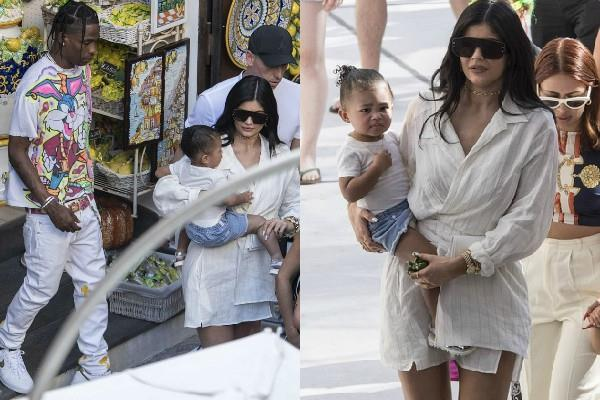 kylie jenner latest pictures with family