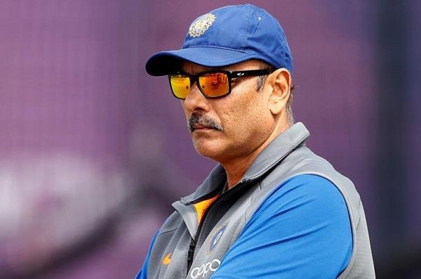 today there will be interview of head coach of team india