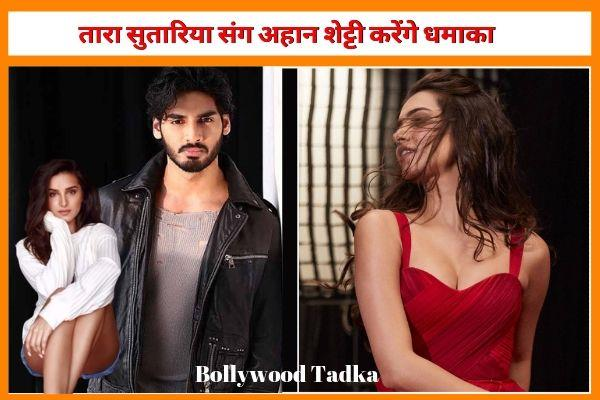 sunil shetty son ahan shetty to start shooting film rx 100 with tara sutaria