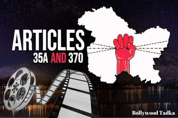 director want to make movie title on article 370 and kashmir me tiranga 35a