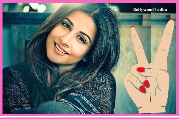 bmc appreciate to actress vidya balan