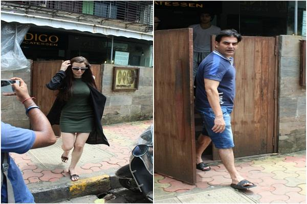 arbaaz khan gave party to girlfriend on eid