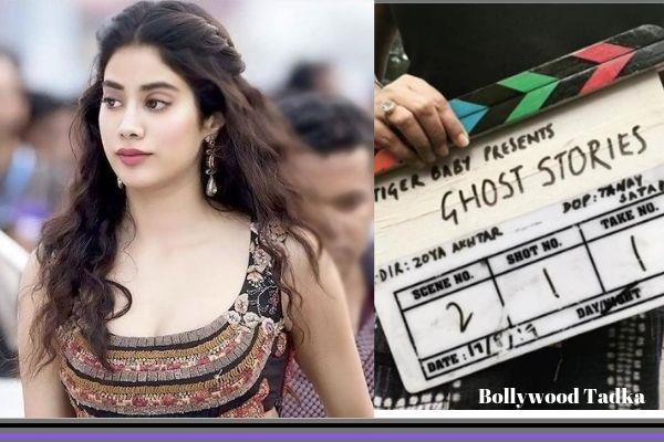 janhvi kapoor get work in zoya akhtar s short film ghost stories