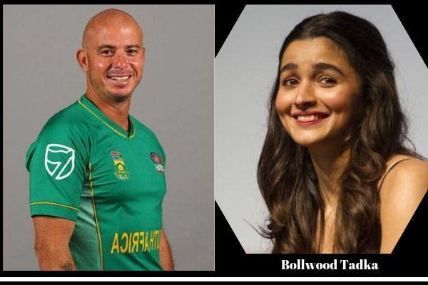 famous cricketer gibbs asked who is alia bhatt on twitter
