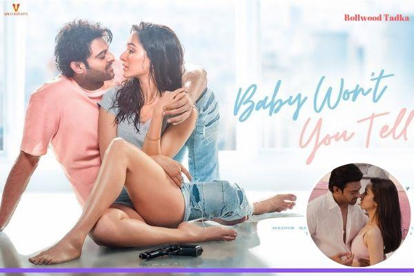 prabhas shraddha kapoor saaho song baby wont you tell me