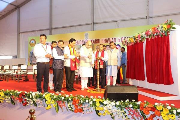 modi government committed to development of northeast shah
