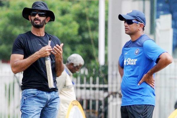 rahul dravid s special batting coach vikram rathore of india
