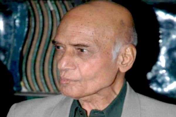 music composer khayyam died at the age of 92 was ill for a long time