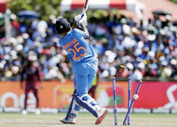ind v wi  shikhar dhawan gets trolled for his poor form