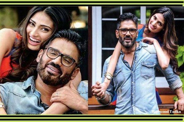 sunil shetty saying mabout athiya shetty movie motichoor chaknachoor